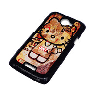OBEY HELLO KITTY HTC One X Case Cover