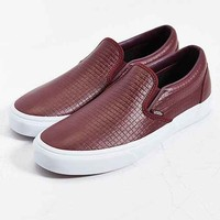 Vans Classic Leather Slip-On