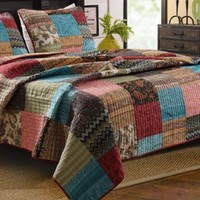 Greenland Home 3-Piece New Bohemian Quilt Set, King