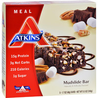 Atkins Advantage Bar - Marshmallow Mudslide - Pack Of 5 - 1.6 Oz