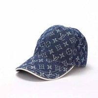 Unisex Lv Louis Vuitton Cap Hat Both Men And Women - Ready Stock