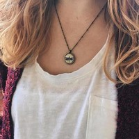 Dainty Dragonfly Necklace