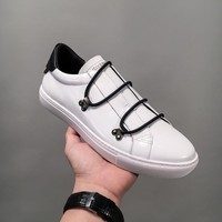 Givenchy Low Sneakers With Elastic Laces White Bh000hh002-116 - Best Online Sale