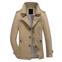 Free shipping men jacket 2016 Spring and Autumn new men's jackets thin cotton casual men's coat  94cy