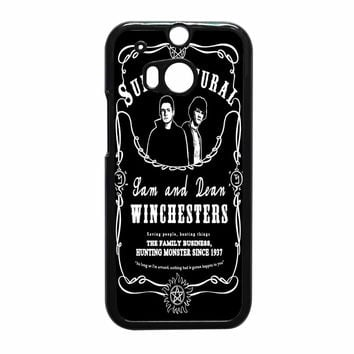 Supernatural The Winchester HTC One M8 Case