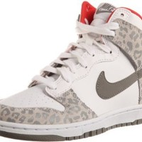 Amazon.com: Nike Wmns Dunk High Skinny Leopard - White Medium Grey (429984-102): Shoes