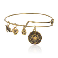 Alex and Ani style 12 constellation Bracelet,Cancer pattern pendant charm bracelet