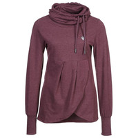 Women Casual Stylish Pullover Long Sleeve Sweatshirt
