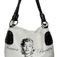 NEW LICENSED FOREVER BEAUTIFUL MARILYN MONROE PURSE HANDBAG