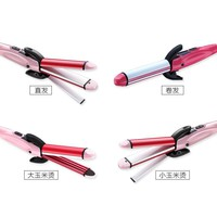 4 in 1 multifunctional hair curling Fast Hair Curler care Hair Straightener Curling Iron Styling Tools
