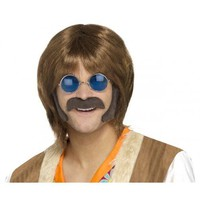 Hippie Disguise Set Costume Accessory Kit Adult Halloween