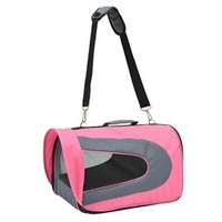 PawHut Collapsible Airline Pet Carrier - Pink
