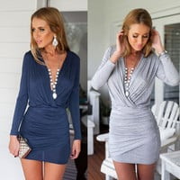 New Fashion Summer Sexy Women Dress Casual Dress for Party and Date = 4421145732 = 4421145732