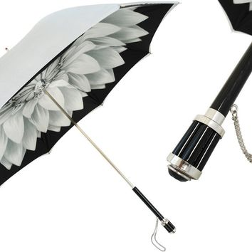 Pasotti Sterling Dahlia Umbrella