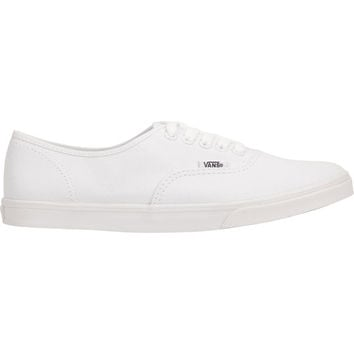 Vans Authentic Lo Pro Womens Shoes True White  In Sizes