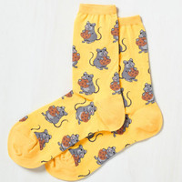 Eat out of Mouse and Home Socks | Mod Retro Vintage Socks | ModCloth.com