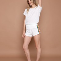 CCO RAINBOW TRACK STAR SHORTS