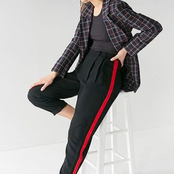 Light Before Dark Pleat Front Trouser | Urban Outfitters