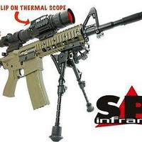 SPI X25 Clip On Stand Alone Thermal Sight Rifle Scope Night Vision System