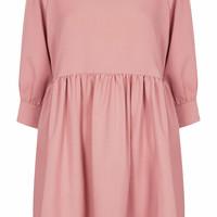 **BUTTON-CUFF ANGEL DRESS BY THE WHITEPEPPER