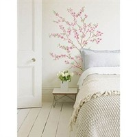 Asian Style Peach Tree - Peel N Stick Dorm Wall Decor Shopping Girls College Stuff Pretty Decals