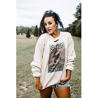 GINA George Strait Gilley's Poster Sweatshirt-SOLD OUT!