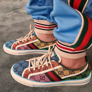 GG Tennis 1977 Embroidered breathable casual sports shoes sneakers shoes