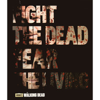 Walking Dead - Fleece Blanket