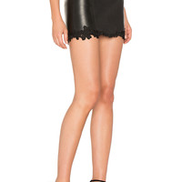 LAMARQUE Tracy Skirt in Black   REVOLVE
