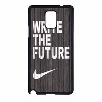Nike Write Future Wood Samsung Galaxy Note 4 Case