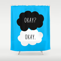 Okay? Okay. The Fault in Our Stars Shower Curtain by Janice Wong | Society6