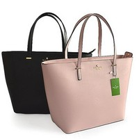KATE SPADE Women Shopping Leather Handbag Tote Satchel H-YJBD-2H