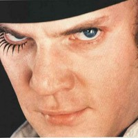 A Clockwork Orange Alex Close-up Movie Poster 24x34