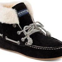 Sperry Top-Sider Mackenzie Slipper Bootie Black, Size 12M  Women's Shoes