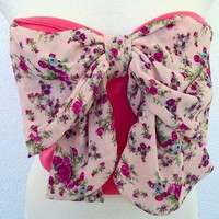 Pink bow Top from Belle La Vie Boutique