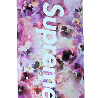 Supreme Flowers Mobile Phone Case For Iphone 7 Se 5S 6 6S Plus Case Cover+ Nice Gift Box