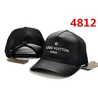 RETRO BLACK LV Sun Cap Tennis Cap Sports Hat Classic Baseball Cap for Women Men Adjustable
