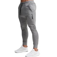 Casual Skinny Pants Mens Joggers Sweatpants Fitness Workout Brand Track Pants New Autumn Male Fashion Trousers