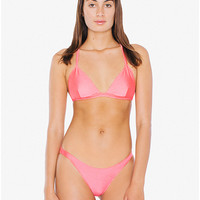 Ruched Brazilian Bikini Bottom | American Apparel