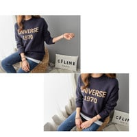 Buy PIPPIN Crew-Neck Lettering Sweater | YesStyle