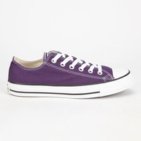 Converse Chuck Taylor All Star Low Shoes Eggplant  In Sizes
