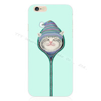 Stylish Kitten Silicon Phone Case For Apple iPhone 5 5S