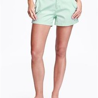 """Everyday Twill Shorts for Women (3 1/2"""")"""