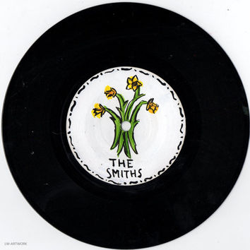 """The Smiths Daffodil 7"""" Painted Vinyl"""
