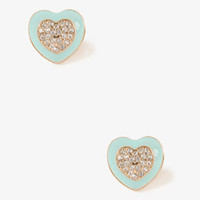 Lacquered Heart Center Studs