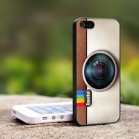Instagram Camera - For iPhone 4,4S Black Case Cover