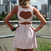Heart Cut Out Dress
