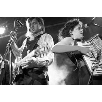 "Arcade Fire Poster Black and White Poster 16""x24"""