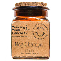Nag Champa Scented Candle 8.5oz.