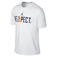 Jordan RE2PECT (Derek Jeter) Men's T-Shirt, by Nike Size XXXL (White)